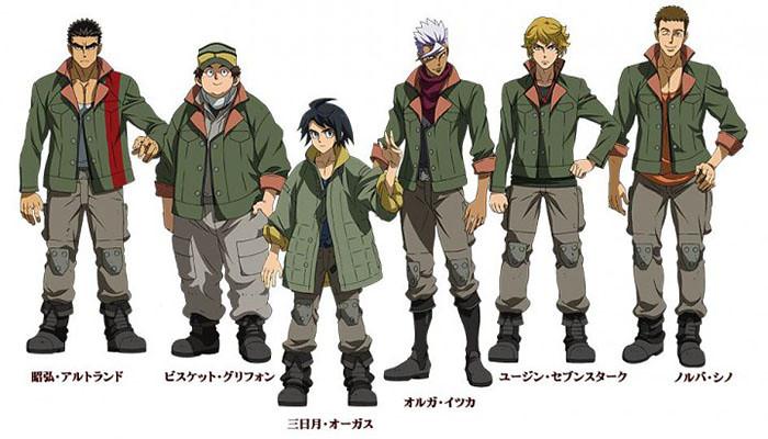 Mobile Suit Gundam: Tekketsu no Orphans - Novo Título da Série Gundam