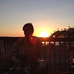 Sunset w friends
