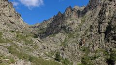 Le vallon de Terrivola depuis le bas