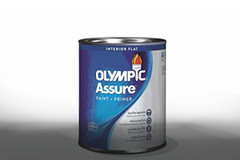 Olympic ASSURE is available exclusively at Lowe's