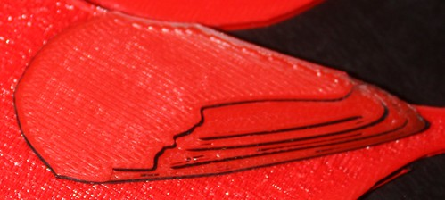 3D Printed Cardinal Amateur Hour - Rectilinear Wing Infill