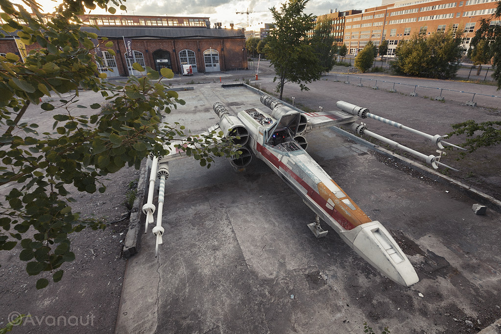 Real X-Wing Fighter