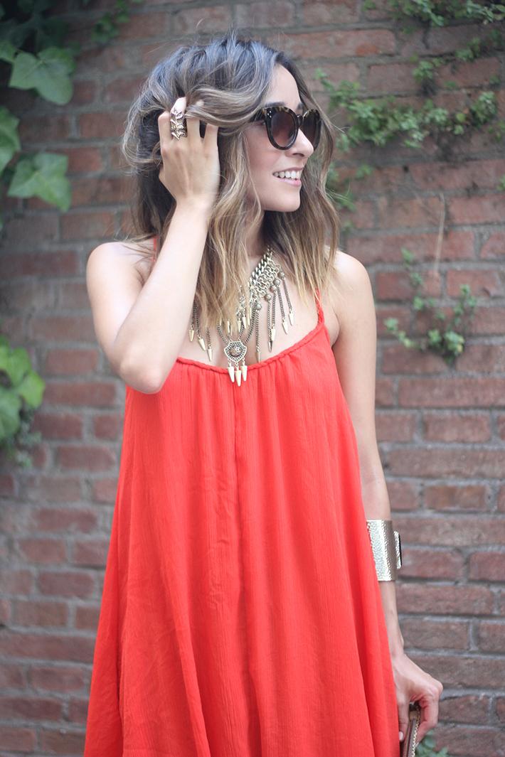 Red Maxi Dress10