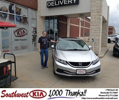 #HappyBirthday to Alyson Hill from Gary Giyette Jr at Southwest KIA Rockwall!