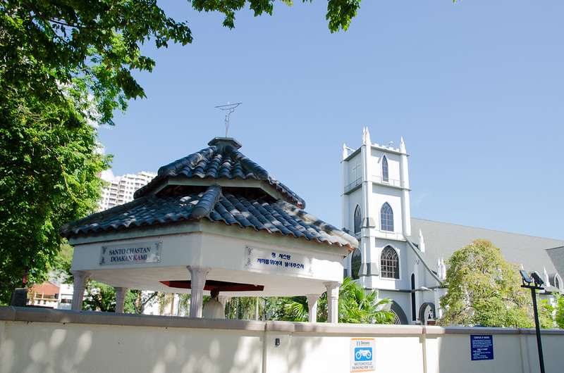 An old church in Penang
