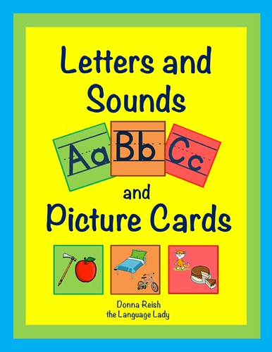Letters & Sounds ABC and Picture Cards