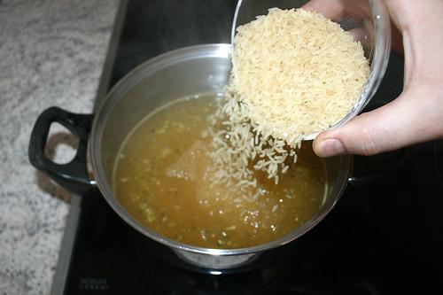 19 - Reis hinzufügen / Add rice