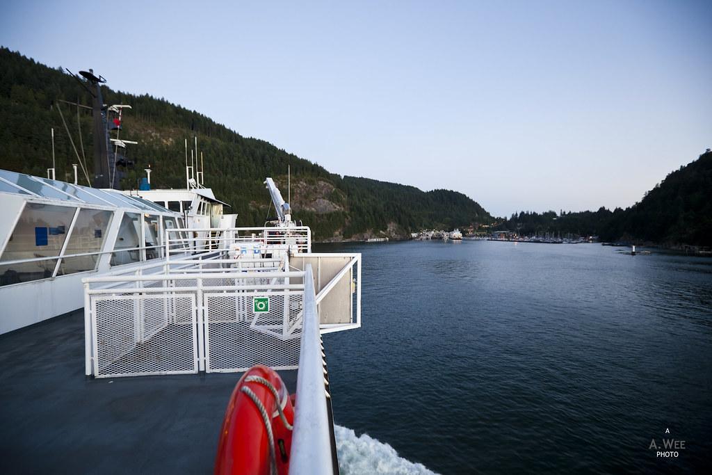 Arriving into Horseshoe Bay