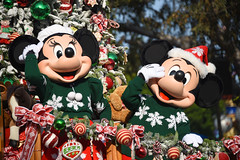 Minnie Mouse & Mickey Mouse in
