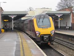 Cheltenham: CrossCountry Class 121, Cheltenham Spa (Gloucestershire)