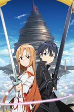 смотреть онлайн Мастера меча онлайн (Sword art online)
