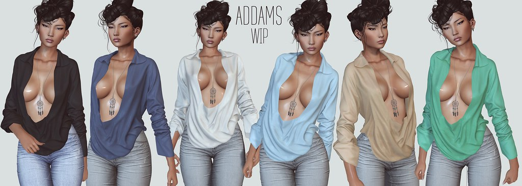 ADDAMS @Work in Progress ♥ - SecondLifeHub.com