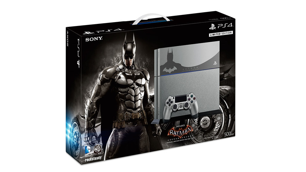 "PS4™ ""Batman: Arkham Knight"" Limited Edition pre-ordering starts from 5th June"