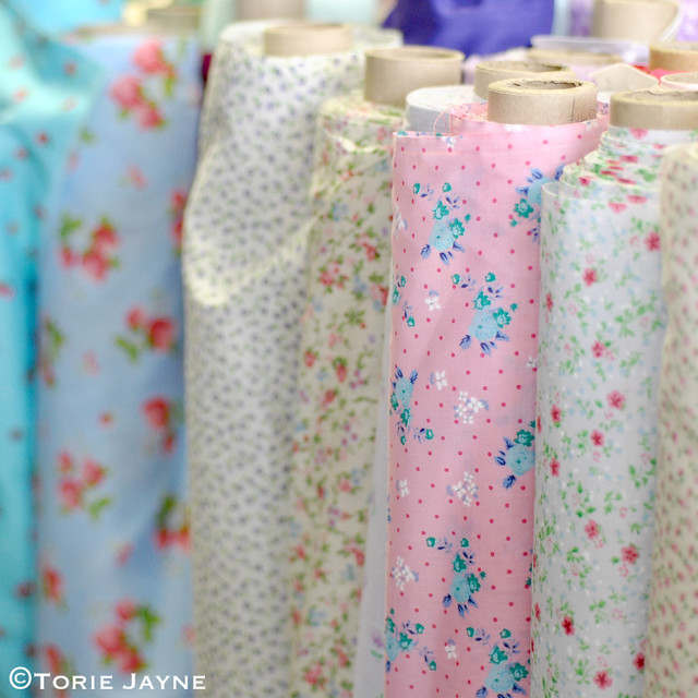 Pretty printed fabrics at Sooz