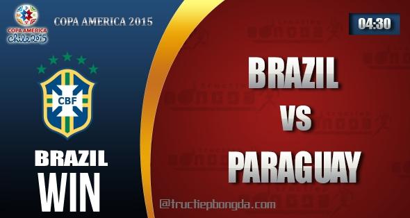 Brazil, Paraguay, Thông tin lực lượng, Thống kê, Dự đoán, Đối đầu, Phong độ, Đội hình dự kiến, Tỉ lệ cá cược, Dự đoán tỉ số, Nhận định trận đấu, Copa America, Copa America 2015, Tứ kết Copa America 2015, Vô địch Nam Mỹ, Vô địch Nam Mỹ 2015, Tứ kết Vô địch Nam Mỹ 2015