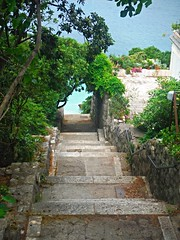 Steps to the sea