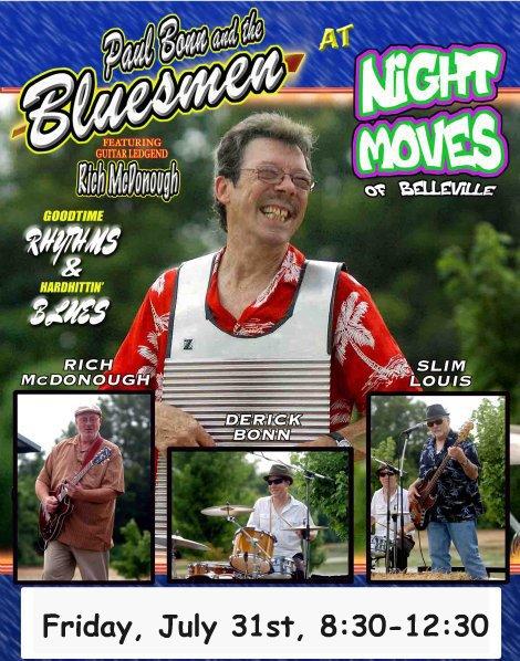 The Bluesmen 7-31-15