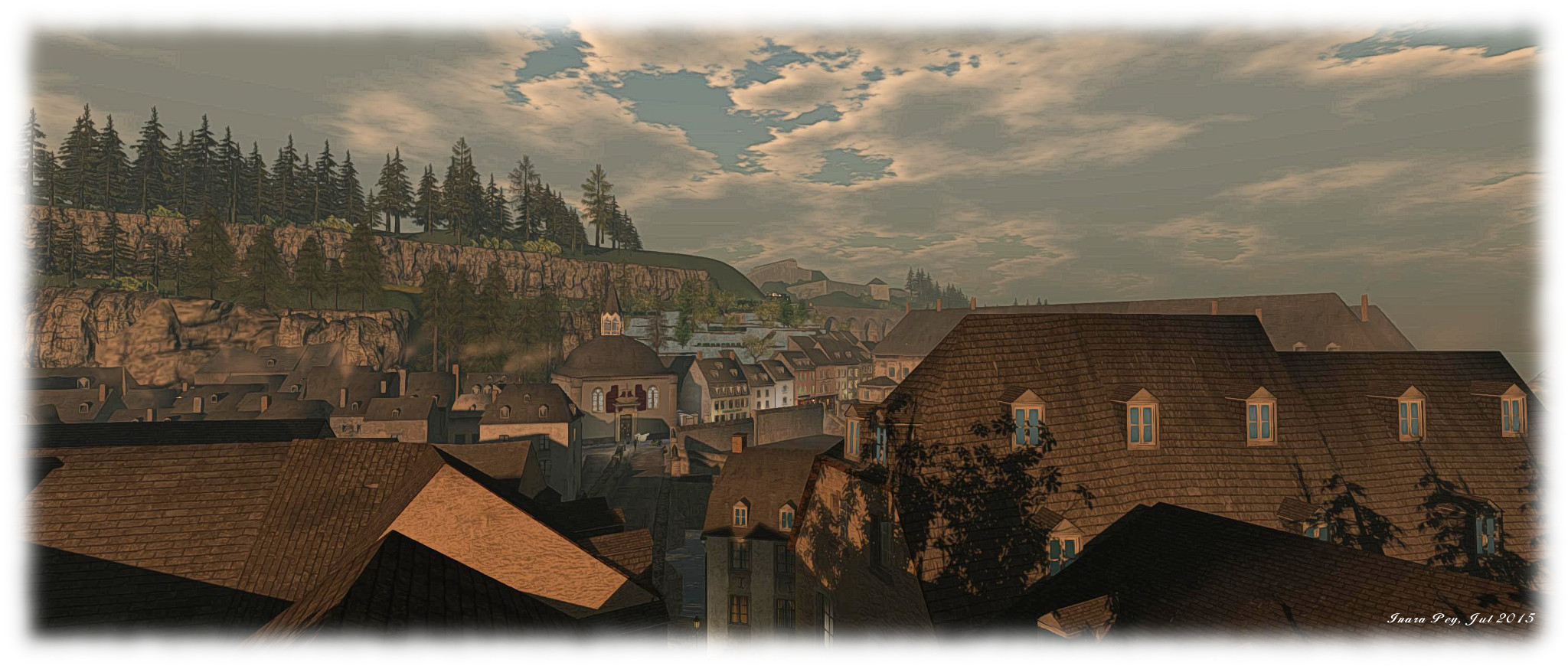 The Virtual Pfaffenthal; Inara Pey, July 2015, on Flickr