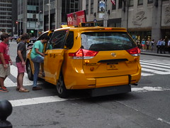 NYC Taxi Toyota Sienna