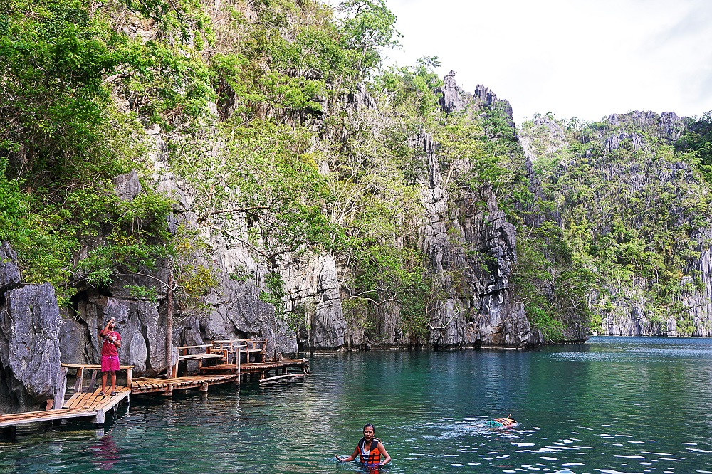 Travel Diary Kayangan Lake in Coron, Palawan, PH -thedailyposh (2)