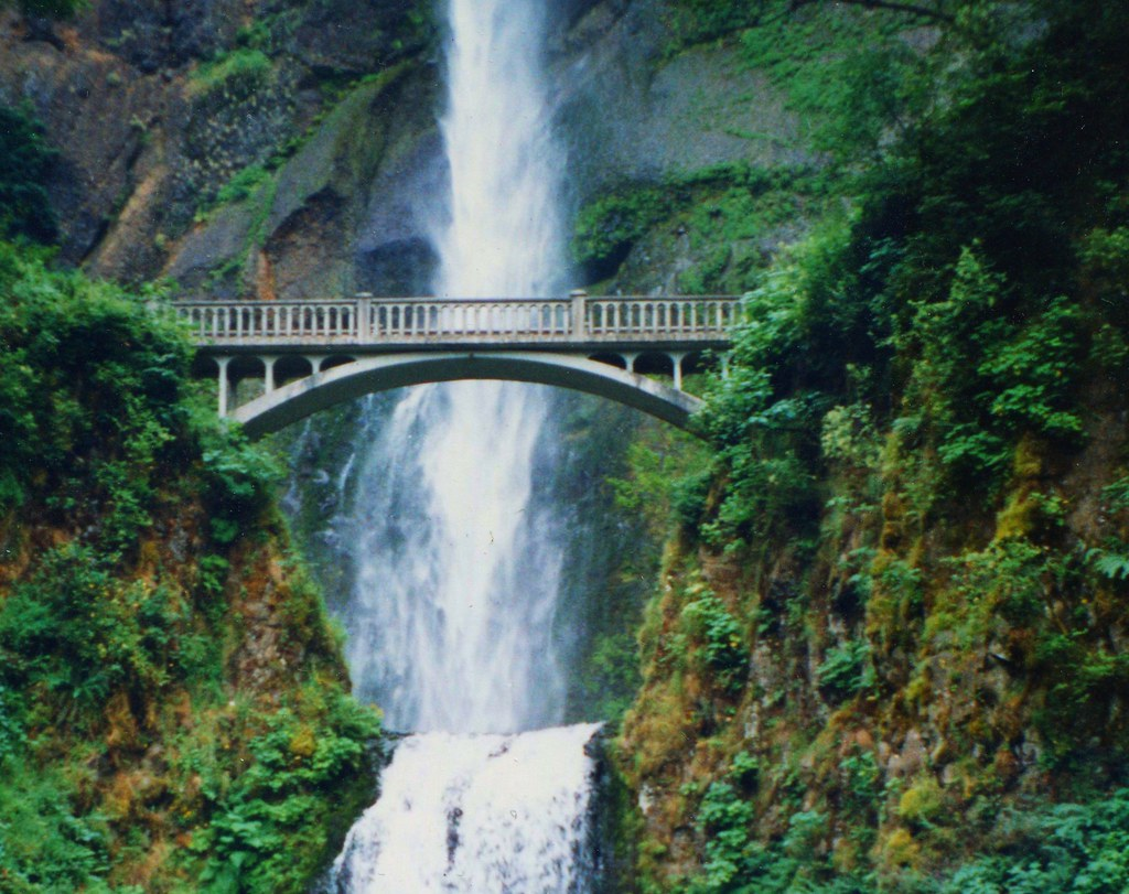 Multnomah Falls ~ Oregon ~ Northwest USA