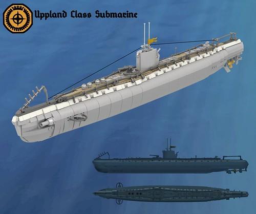 Uppland Class Coastal Submarine