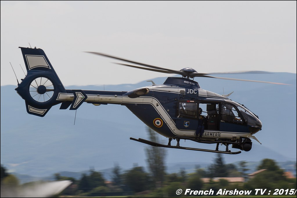 EC-135 Gendarmerie, démonstration de la brigade cynophile, chien,Groupe d'investigation cynophile, free flight world masters valence Chabeuil 2015, BleuCiel Airshow 2015,, Meeting Aerien 2015