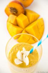 Mango, Peach & Turmeric Smoothie – Smoothie…
