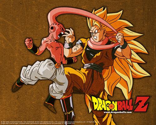Goku vs Boo