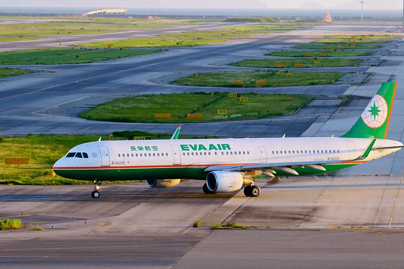 B-16205 长荣航空 エバー航空 EVA AIR Airbus A321-200