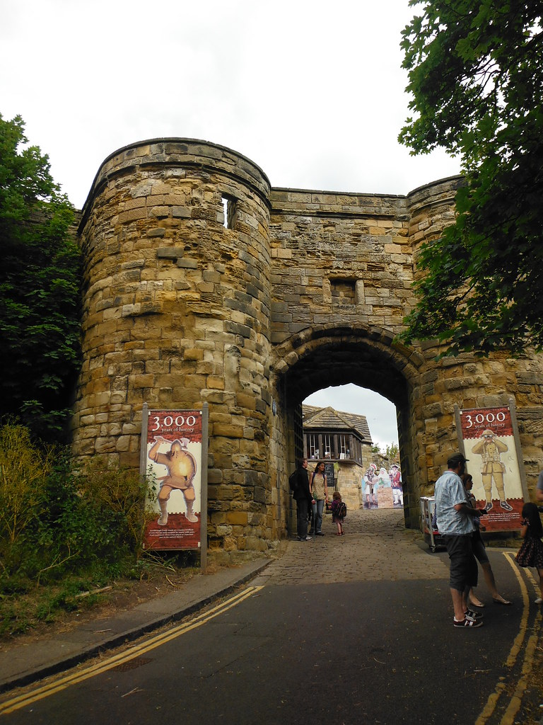 Scarborough Castle Entrance