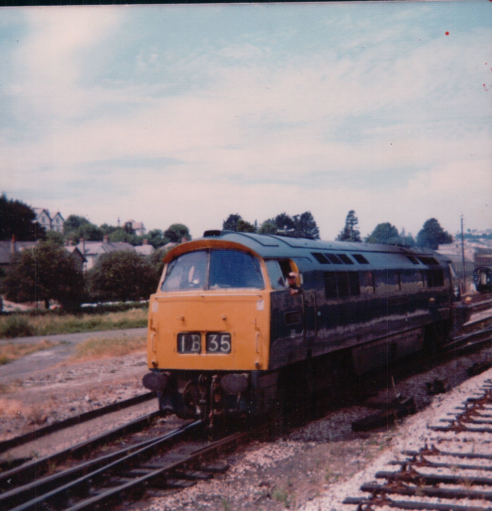 1073 at Goodrington Sands 9th July 1973.