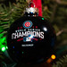 Chicago Cubs Christmas Ornament by Laura Erickson