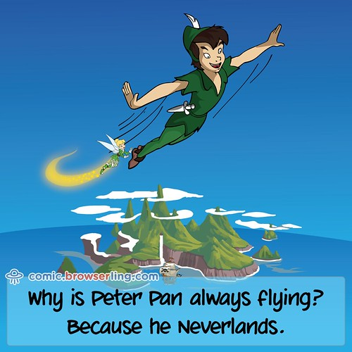 Peter Pan - Webcomic about web developers, programmers and browsers