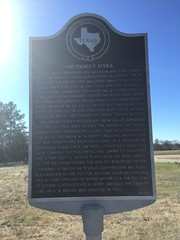 TX historical marker between Malakoff and Waco, TX.  Jan 2017.
