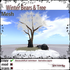 Winter Bear & Tree