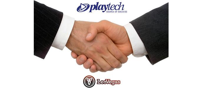 LeoVegas & Playtech