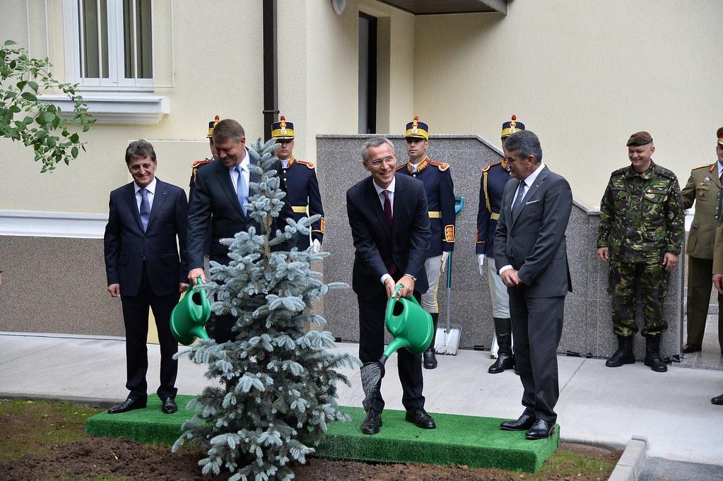 Secretarul General NATO, Jens Stoltenberg in Romania - 2 iulie 2015