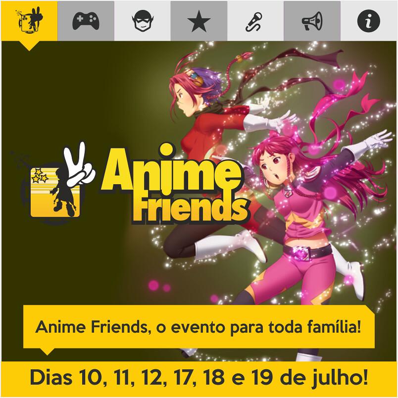 Anime Friends está chegando! Saiba o que espera por você nesta edição