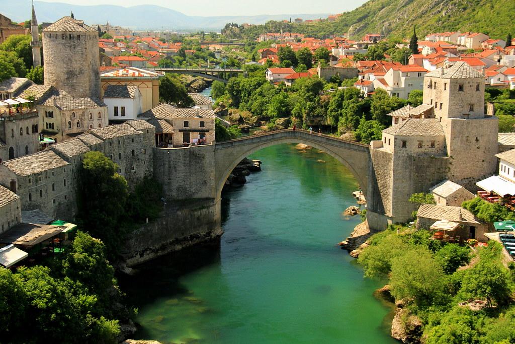 Bosnia - Mostar - The Old Bridge