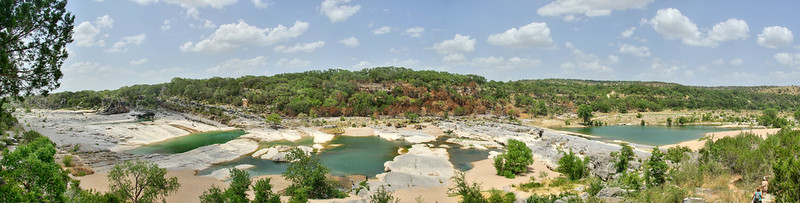 Panorama, Pedernales Falls State Park, Blanco County, Texas