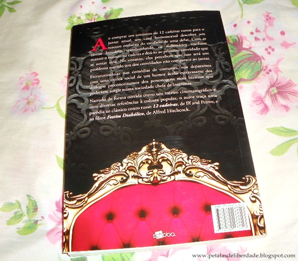 Resenha, livro, Festim das 12 cadeiras, Elvis DelBagno, sinopse, facebook, literatura nacional