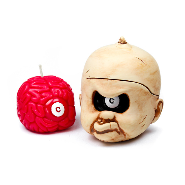 Brainfart55 × 900 Sculptor Studio【I Got Brain - C獨眼巨人】限定燭台組