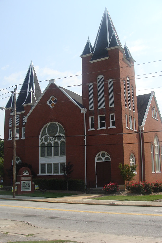 Conyers Methodist Church---Conyers, Ga.