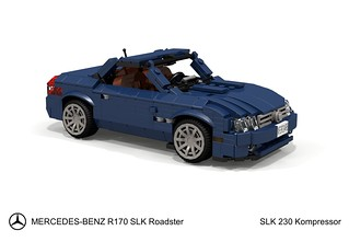Mercedes-Benz R170 SLK Roadster