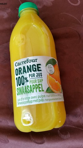 jus d'orange 100% de carrefour