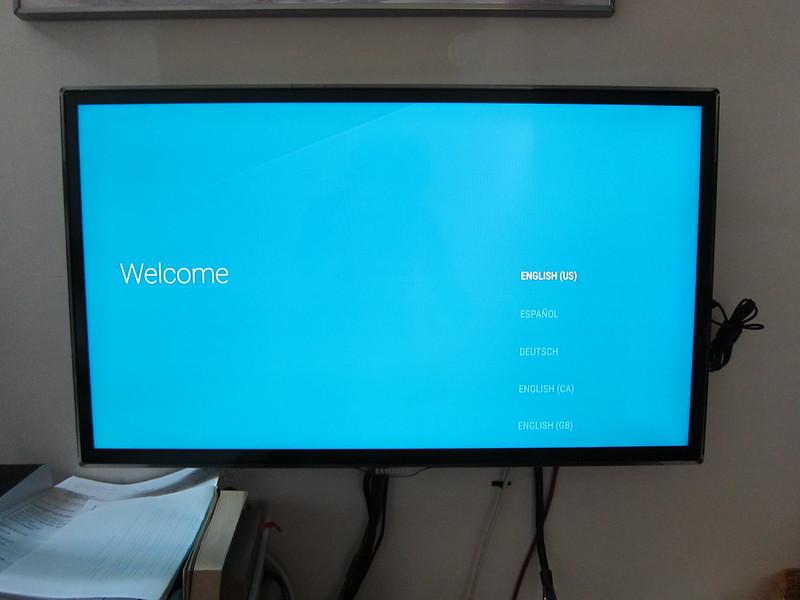 Nexus Player - Welcome