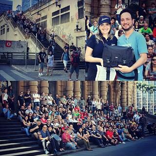 Oficial da 39a Saída Fotocultura: Secreta, realizada hoje 19 de julho de 2015.   Mesmo sendo secreta foram 113 participantes, reunindo em frente ao Teatro Municipal de São Paulo. Demos uma volta pelos meus lugares favoritos no centro, e depois ainda fomos