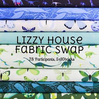 Lizzy House Fabric Swap - Round 5!