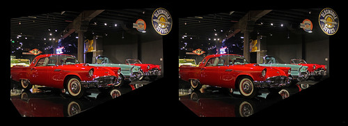 cars 3d stereo autos tbird crosseyedstereo stereographics